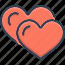 friendly, friendship, heart, love, romance, valentine