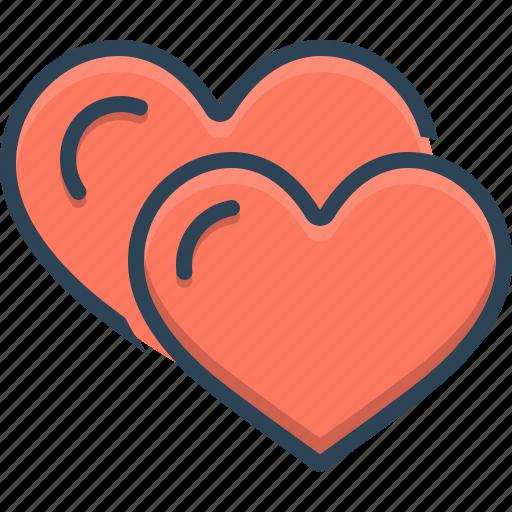 Friendly, friendship, heart, love, romance, valentine icon - Download on Iconfinder