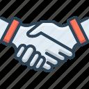 agreement, friendly, handshake, partner, partnership, together