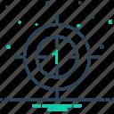 beginner, countdown, start icon