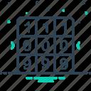 combination, decrypt, match icon