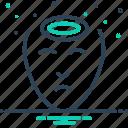 head, headache, instraits, pain icon