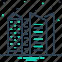 architecture, buildings, cityscape, construction, corporate icon