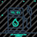 biofuel, energy, fuel, petrol station, petroleum, pump, transport icon