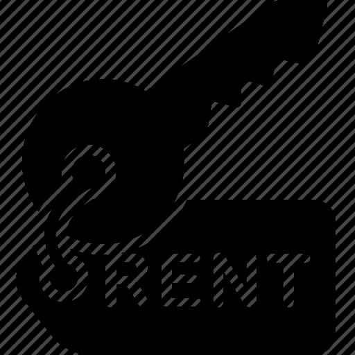 Rent Cm: Key, Leasing, Rent, Rental Icon