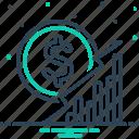 business, commercial, economics, grow, investment, rise, sales