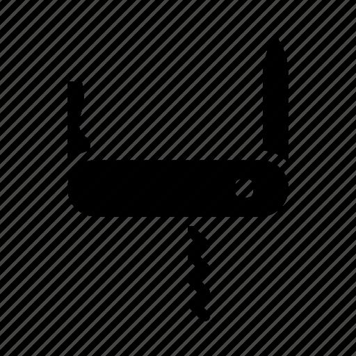 Army, corkscrew, knife, multi task, pocket knife, swiss, switchblade icon - Download on Iconfinder