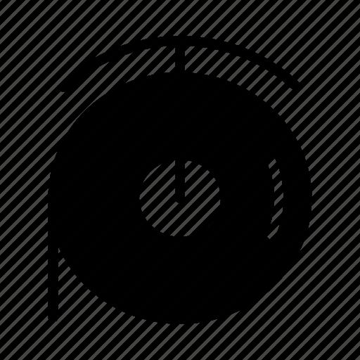 Bathroom, hygiene, paper, roll, toilet, disk, reel icon - Download on Iconfinder