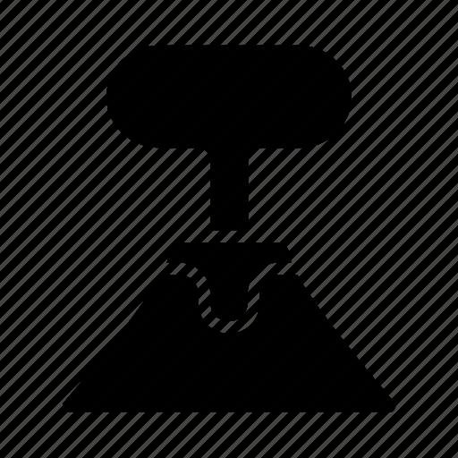 Blast, cloud, eruption, explosion, lava, volcanic, volcano icon - Download on Iconfinder