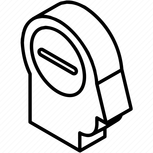 head, isometric, minus, remove, remove customer, remove user icon