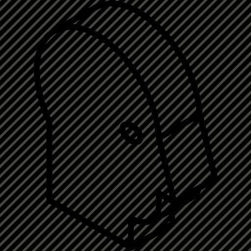 account, avatar, head, isometric, person, profile, user icon
