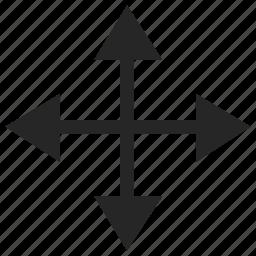 arrow, movie icon