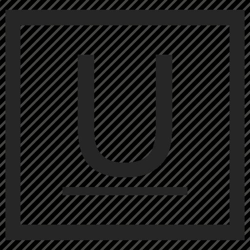 formatting, text, transform, underline icon
