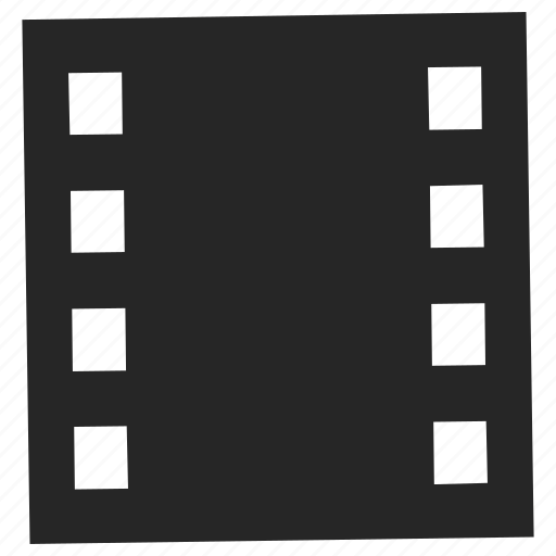 cinema, film, gallery, movie, negatives, video icon