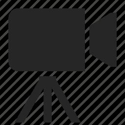 cam, camcorder, camera, media, video, video camera icon