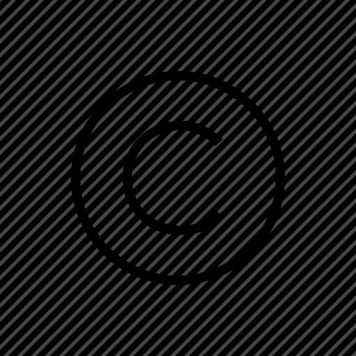 copyright, protection, trademark icon