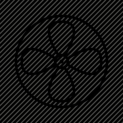 Fan, turbine, ventilator, air icon - Download on Iconfinder