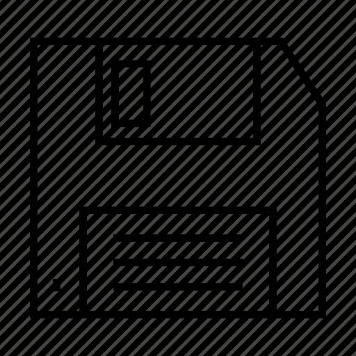 Floppy, data, diskette, information, storage icon - Download on Iconfinder