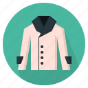 clothing, coat, woman, women icon