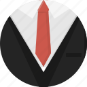 clothing, man, men, suit, tie icon