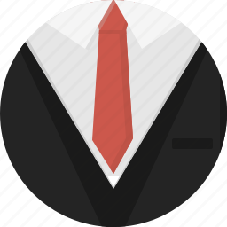 clothing, man, men, suit, tie icon