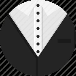 clothing, man, men, suit icon