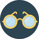 eye, eye-glasses, glass icon