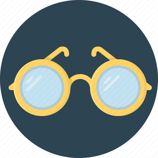 eye, eye-glasses, glass icon