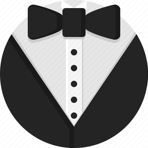 bow, clothing, man, men, suit, tuxedo icon
