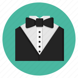 bow, clothing, man, men, suit, tuxedo icon
