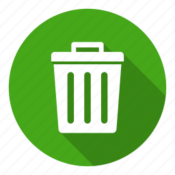 bin, can, delete, recycle, remove, trash icon