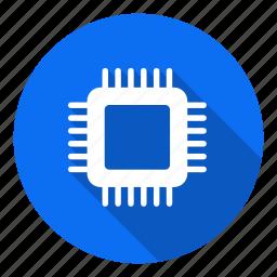 chip, computer, cpu, device, hardware, microchip, processor chip icon