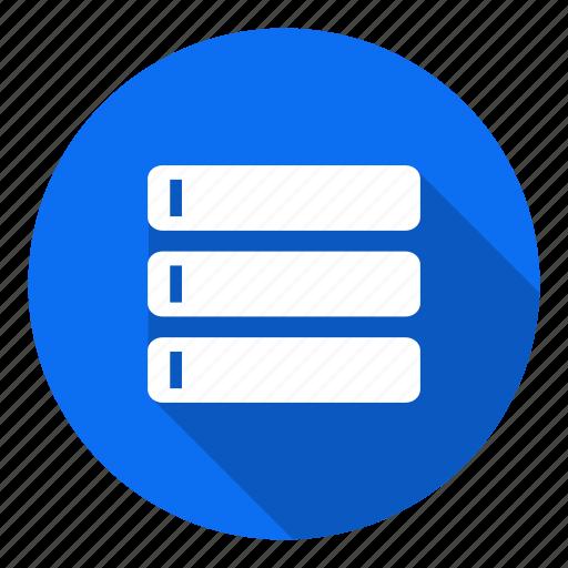 data, database, file, hosting, rar, storage icon
