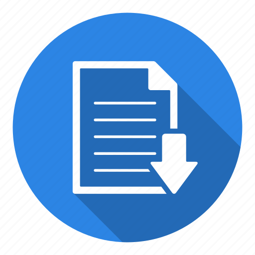 File, download, extension, format, data, down, arrow icon - Download on Iconfinder