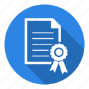 achievement, award, badge, medal, prize, reward, trademark icon