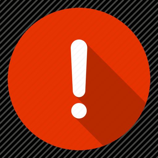 Info, help, alert, caution, danger, error icon - Download on Iconfinder