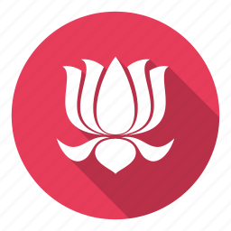 bloom, floral, flower, lotus, yoga icon