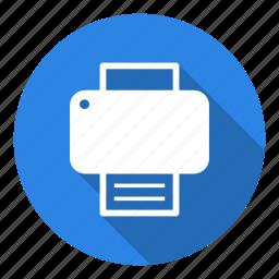 office, paper, print, printer, printing, printout, sheet icon