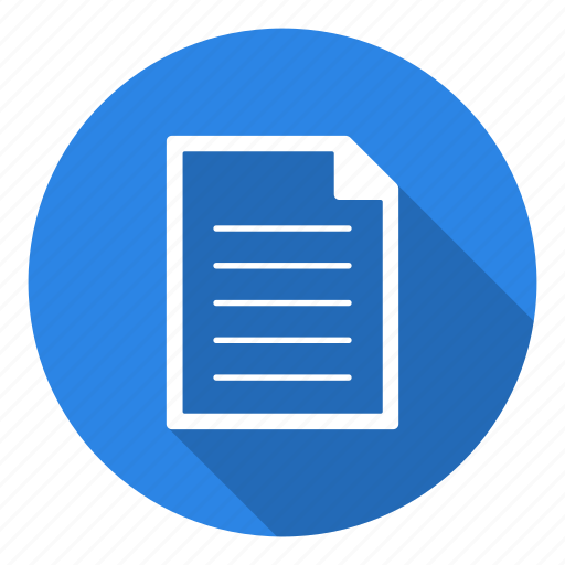 data, file, page, paper, sheet icon