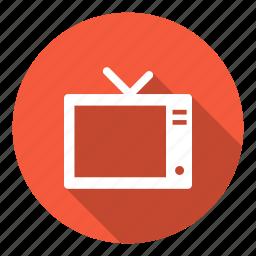 communication, film, media, social, television, tv icon