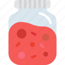 bottle, food, jelly icon