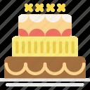 cake, celebration, party icon