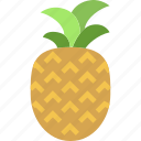 fruit, healthy, pineapple icon