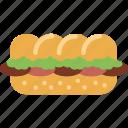 bread, breakfast, sandwich icon