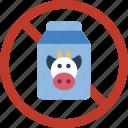 beverage, dairy, milk icon