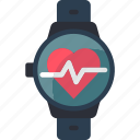 heart, love, rate icon