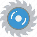 construction, saw, tool icon