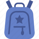 backpack, bag, suitcase icon
