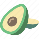 avocado, fruit, healthy icon