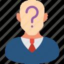 candidate, profile, user icon